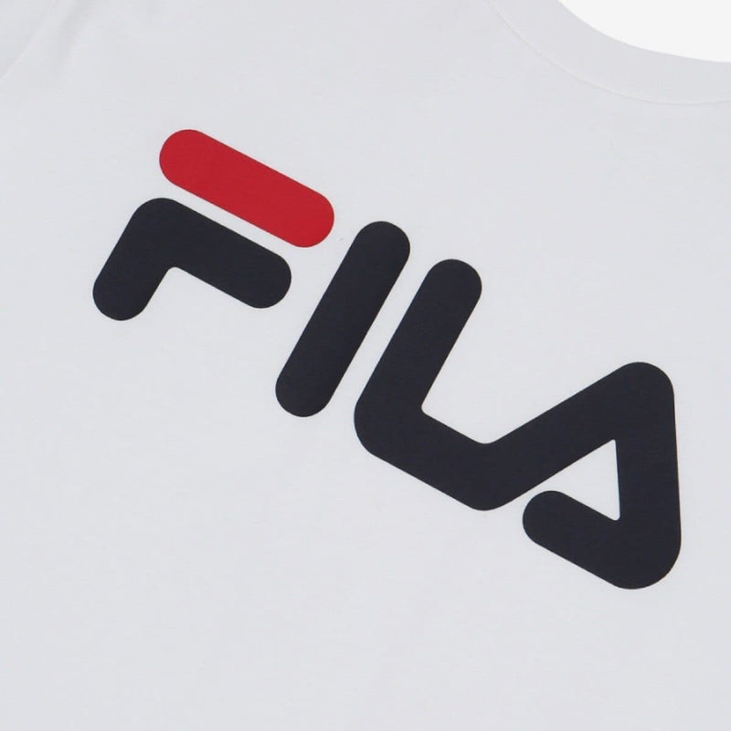 Fila Big Linear Logo T-shirt White SG Fila