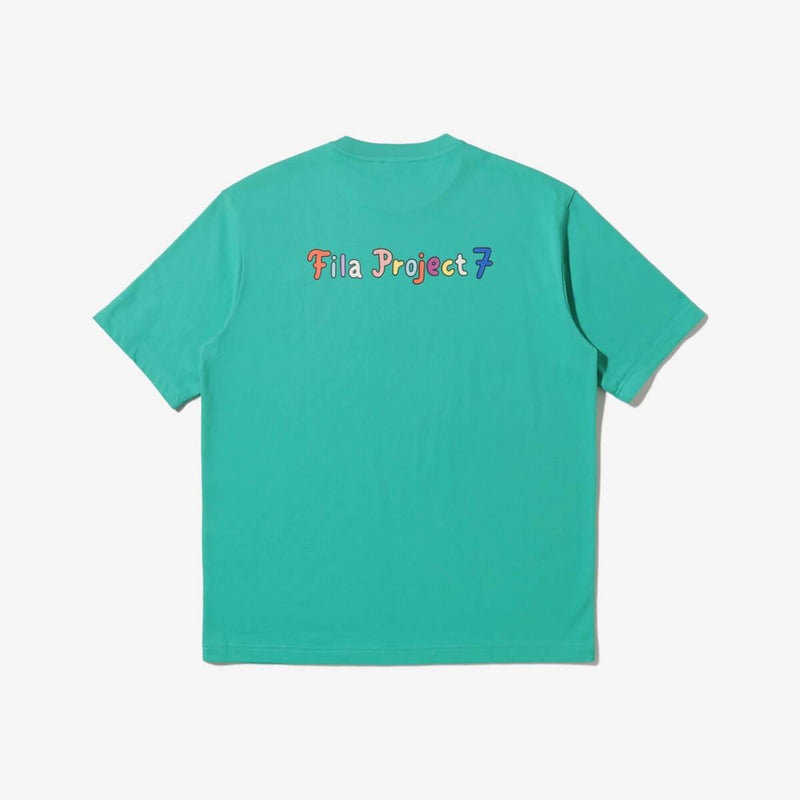 Fila BTS Project 7 Back To Nature Seven Logo T-shirt Fila