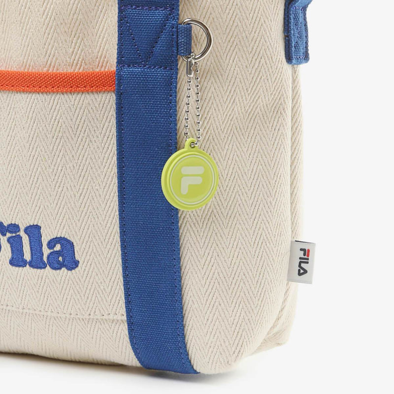 Fila Korea Herringbone Mini Tote Bag Royal Blue Fila