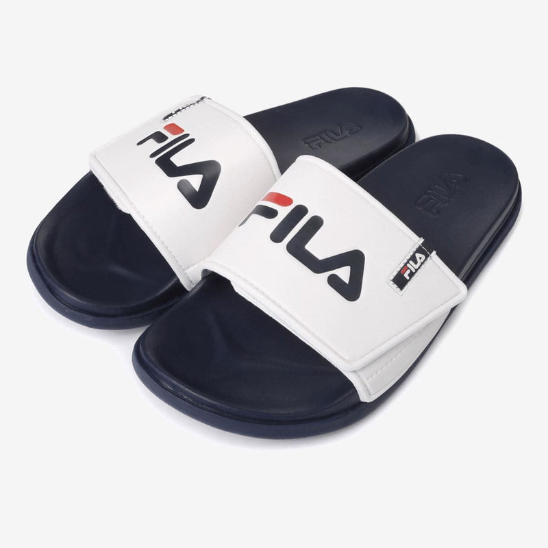 Fila Sleek Tender Velcro VC Navy White Slippers_1SM00556 styleupk