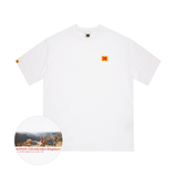 Kodak Apparel Colorama Display The World Lagest Photograph Oversized T-shirt White styleupk