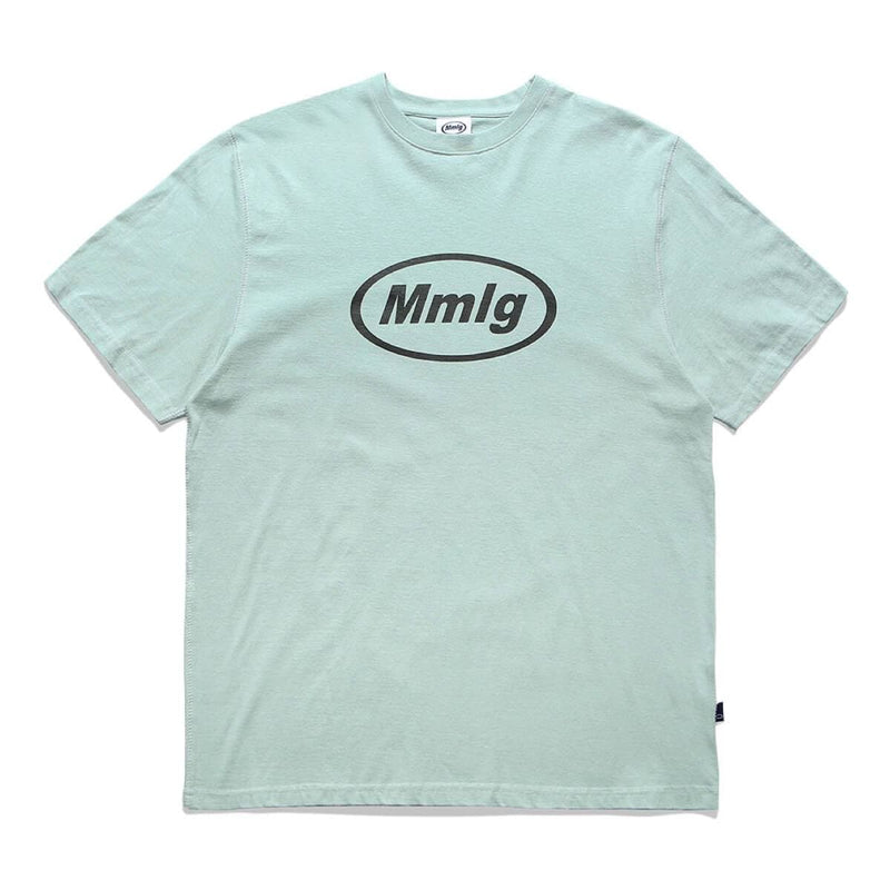 Mmlg Oval Logo Oversized T-shirt Mint MMLG