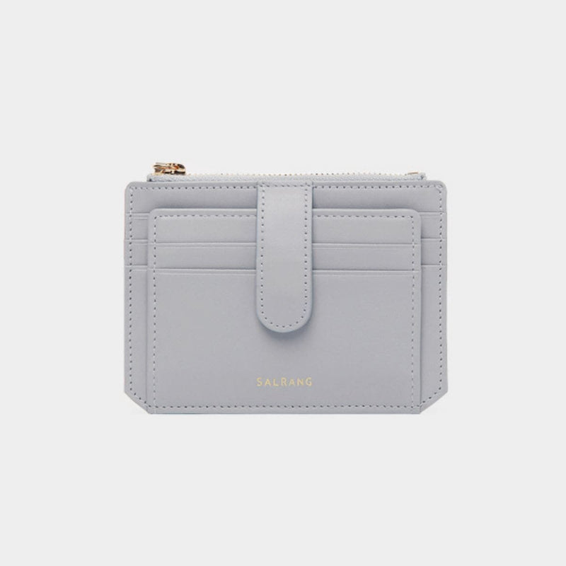 Salrang Dijon Flap Mini Wallet Light Grey styleupk
