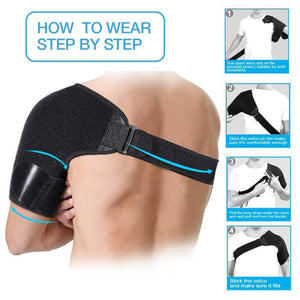 Adjustable Bandage Protector Single Shoulder Strap
