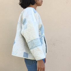 TRS ReMade Quilt Jacket - No side seam