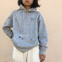 TRS ROBOT Heather Grey Hoodie Sweatshirt