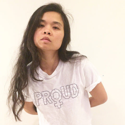 'PROUD' Embroidery TShirt