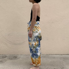 TRS Tie Dye Cotton Drop Crotch Pants