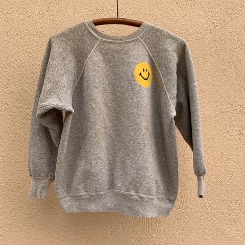 SMILE Sweatshirt - Heather Grey