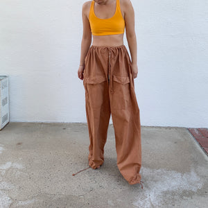 Drawcord Pants - Vintage