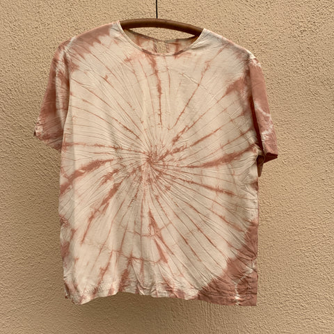 Avocado Dye Silk Top
