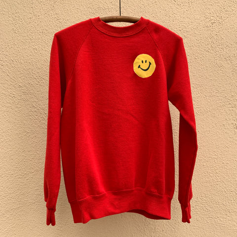 SMILE Sweatshirt - Red