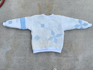 The Classic Crew Neck - Quilted Star