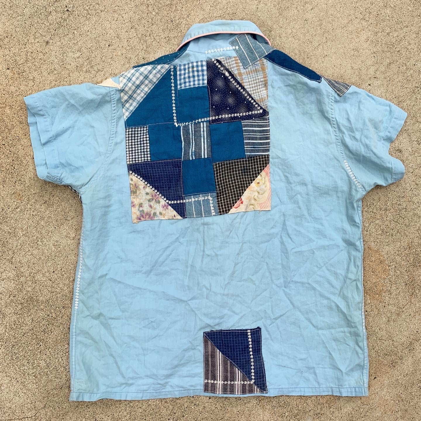 TRS Patched Shirt