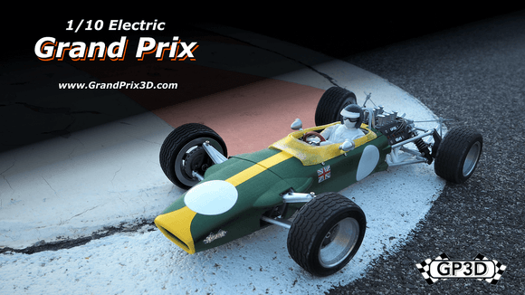 Grand Prix 3D - 1/10th RC kit (Type L)