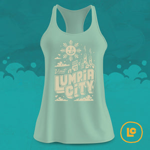 """Visit Lumpia City"" Tank SALE"