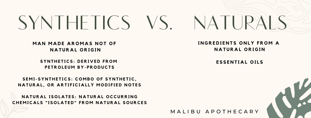 Synthetic vs Natural fragrances and their differences
