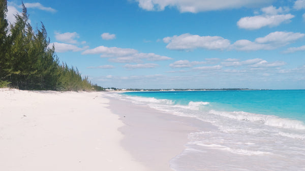 3½ miles and consists of sugary white sand complimented with turquoise water