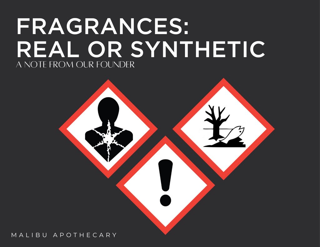 Truth Behind Synthetic Fragrances: A note from our founder