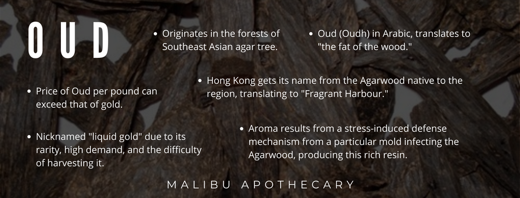 What is oud, its scent, and its history. Six fast facts about oudh fragrance