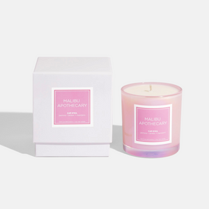 Iridescent Pink Candle