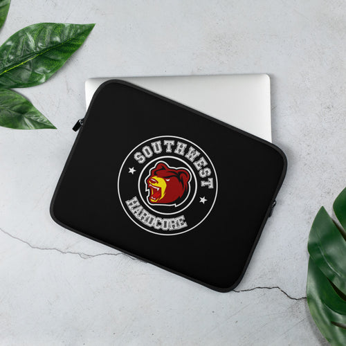 Bear Logo Laptop Sleeve - Southwest Hardcore