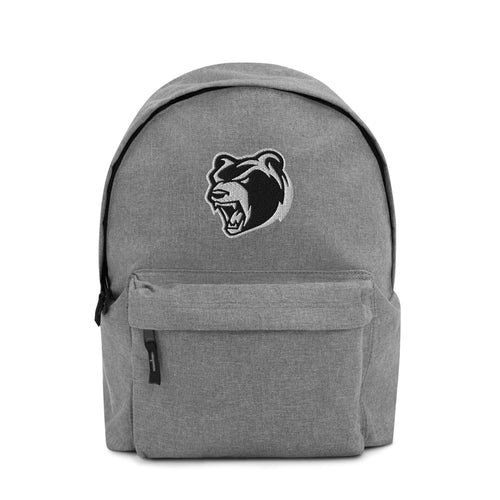 Bear Logo Embroidered Backpack - Southwest Hardcore