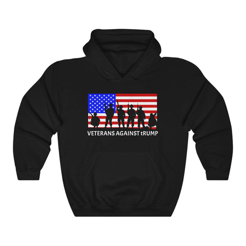 Veterans Against tRump – Anti Donald Trump Hoodie - PolitiCoolClothing