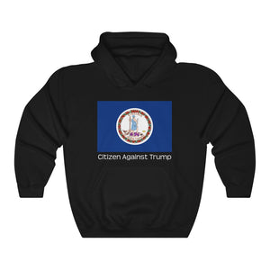 Virginia's Citizen Against Trump Hoodie #CitizenAgainstTrump - PolitiCoolClothing