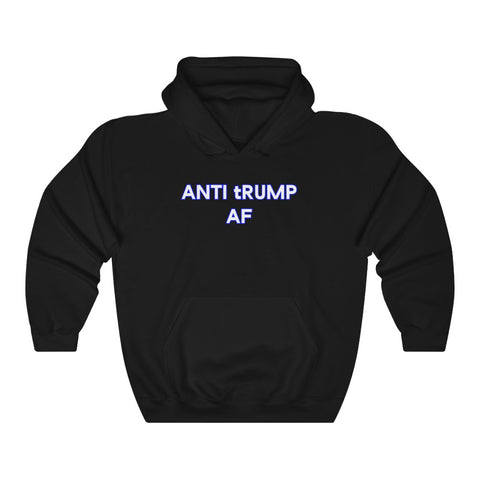 Anti tRump AF Hoodie - PolitiCoolClothing