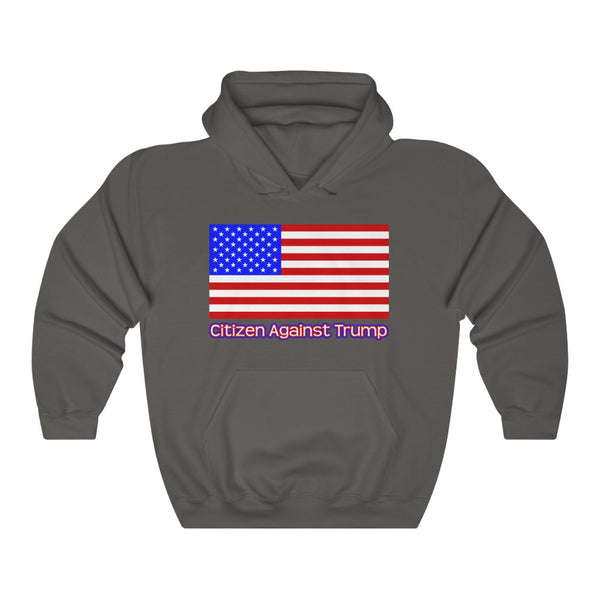 America's Citizen Against Trump Hoodie #CitizenAgainstTrump - PolitiCoolClothing