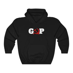 Grand Old Party Hammer And Sickle – Democratic Party Political Hoodie - PolitiCoolClothing