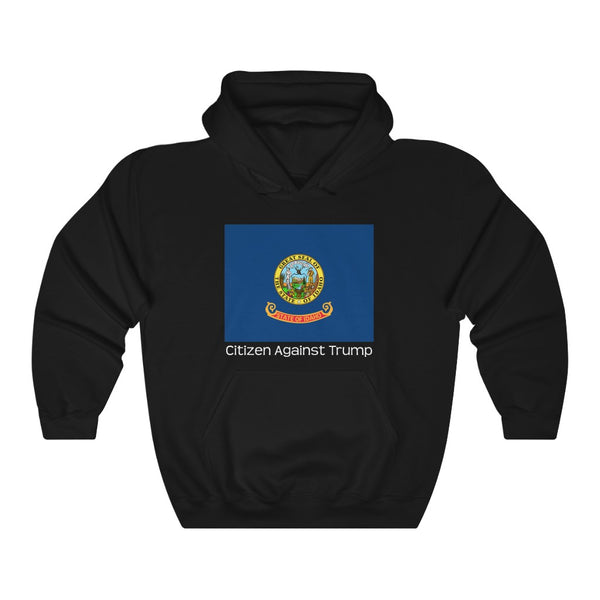 Idaho's Citizen Against Trump Hoodie #CitizenAgainstTrump - PolitiCoolClothing