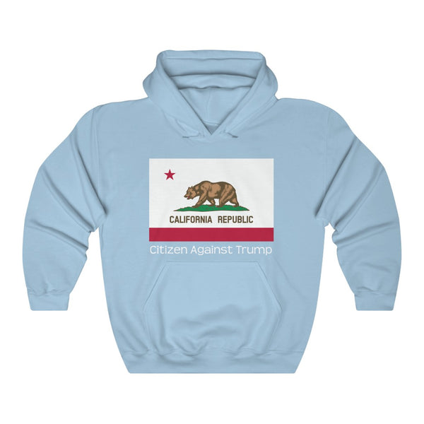California's Citizen Against Trump Hoodie #CitizenAgainstTrump - PolitiCoolClothing