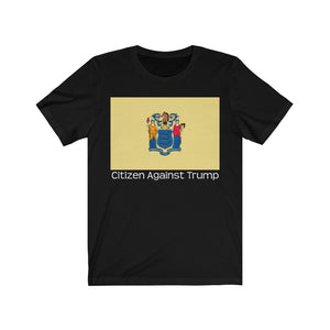 New Jersey's Citizen Against Trump T-Shirt #CitizenAgainstTrump - PolitiCoolClothing