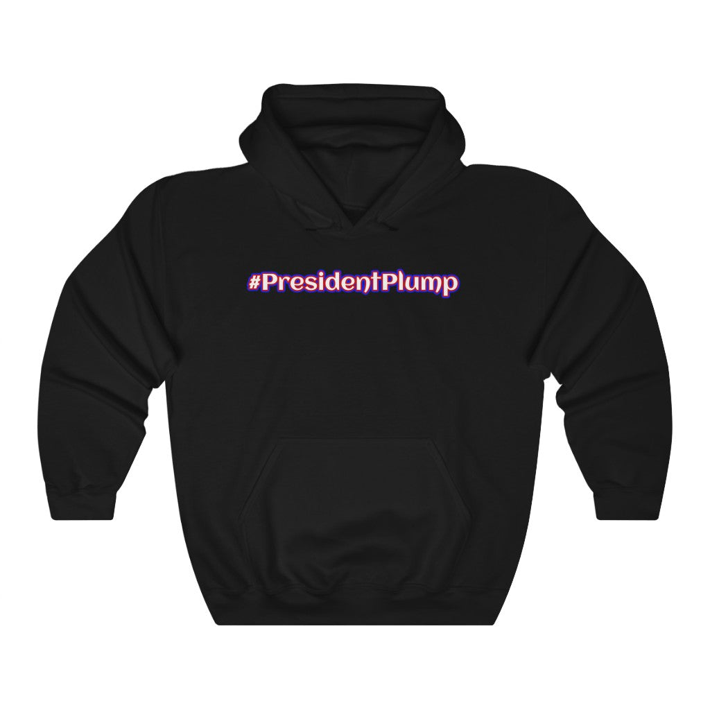 #PresidentPlump Funny Anti Trump Hoodie - PolitiCoolClothing