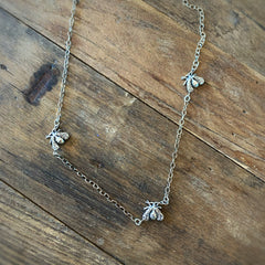 3 Bee Necklace