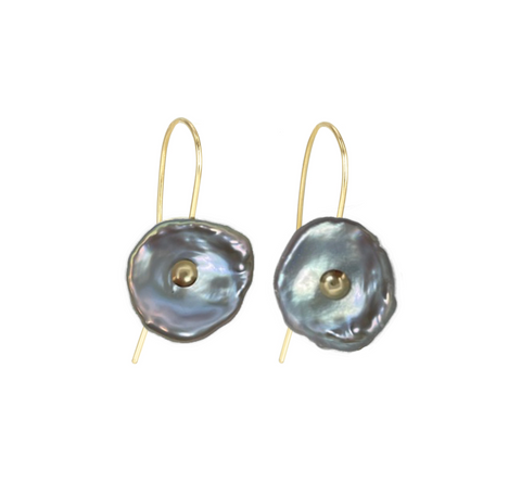 Keshi Pearl Ear Drops