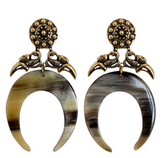 Susan Squash Blossom Earrings