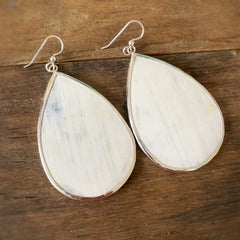 Large Teardrop Earrings