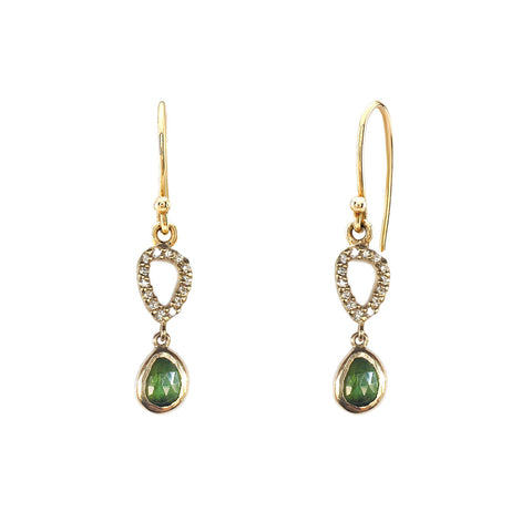 Tourmaline Diamond Drops