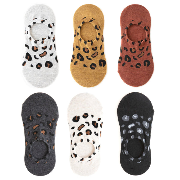 leopard print no show socks Who said socks should be boring?! We love these leopard print socks, perfect for sneakers.