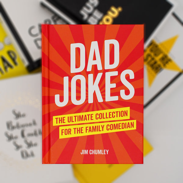 Child: Dad, I'm hungry  Dad: Hello hungry, I'm Dad!  Celebrate the sense of humour that's so bad it's great with this ultimate collection of dad jokes. From cheesy one-liners to puns so terrible that they should probably be illegal, this book has it all - it's sure to make you laugh and cry.  Hardcover  160 pages  Size: 12.2 W X 14.4 H cm