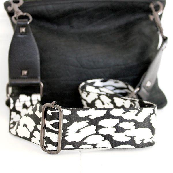 Animal Print Bag Strap Give your bag a whole new lease of life by simply updating the strap. Adjustable length.  Size: strap length 137cm fully extended strap width 5cm