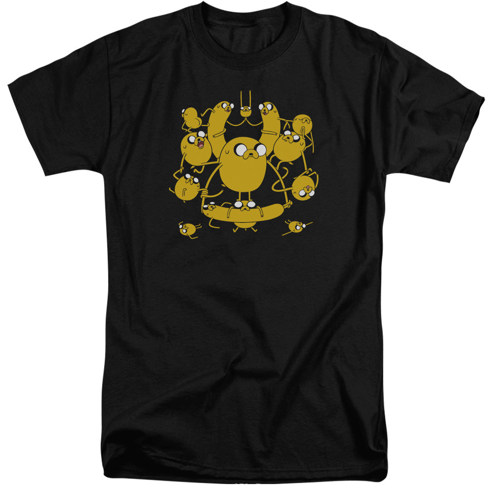Adventure Time - Jakes Short Sleeve Adult Tall