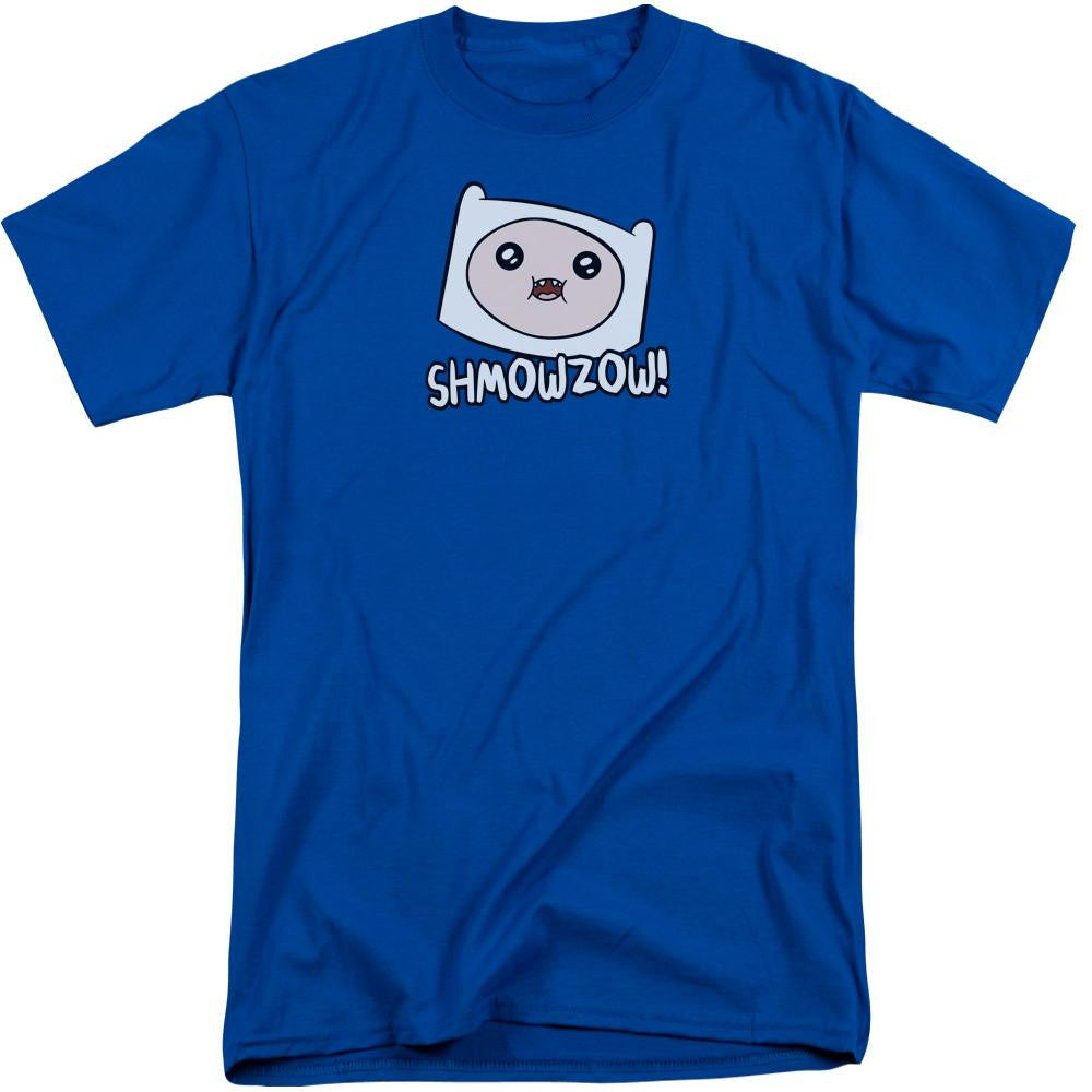 Adventure Time - Shmowzow Short Sleeve Adult Tall