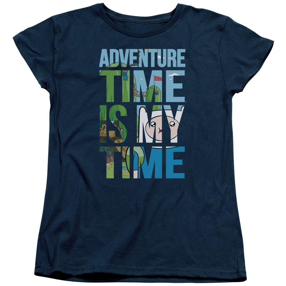 Adventure Time - My Time Short Sleeve Women's Tee