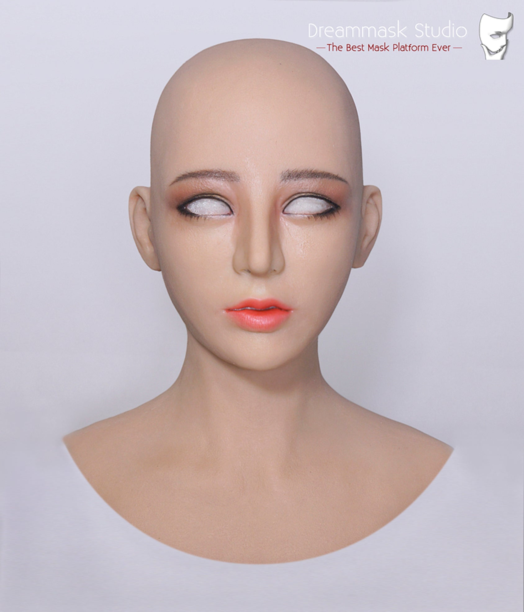 Full head Haena mask Pull-Over Hood Corssdress Cosplay for TG CD Dragqueen Ladyboy