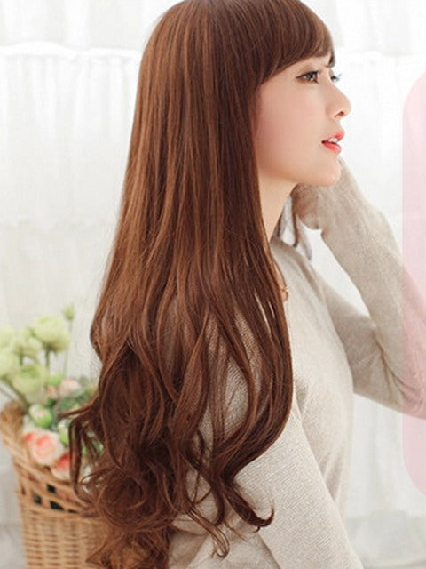 Long wig transformation parts for party costume Crossdress Cosplay TG CD Dragqueen Ladyboy
