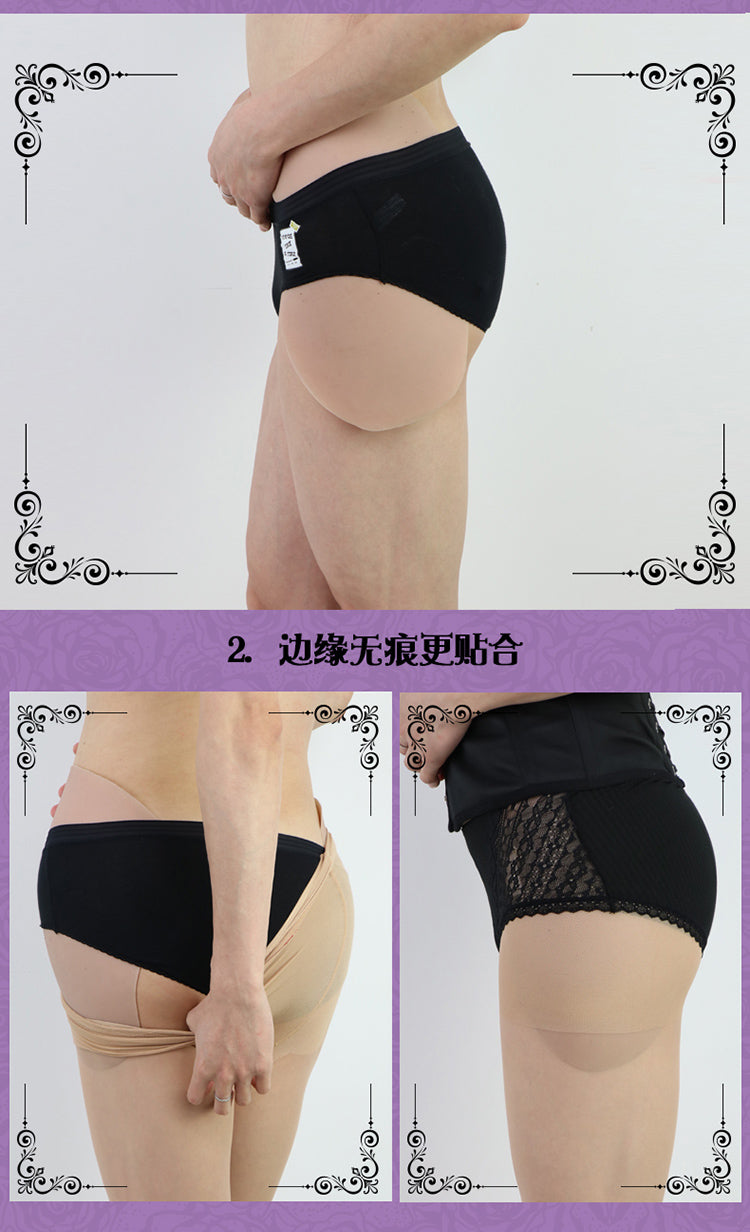 Silicone thigh and hip M-size pads transformation parts for Crossdress Cosplay TG CD Dragqueen Ladyboy
